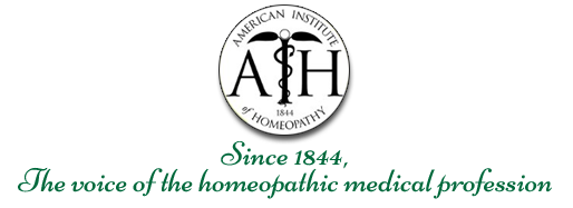 American Institute of Homeopathy - Homeopathy