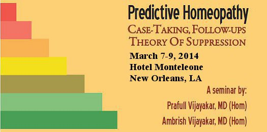 2013 AIH Conference: Predictive Homeopathy