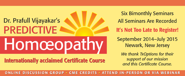 Predictive Homeopathy Certification Program