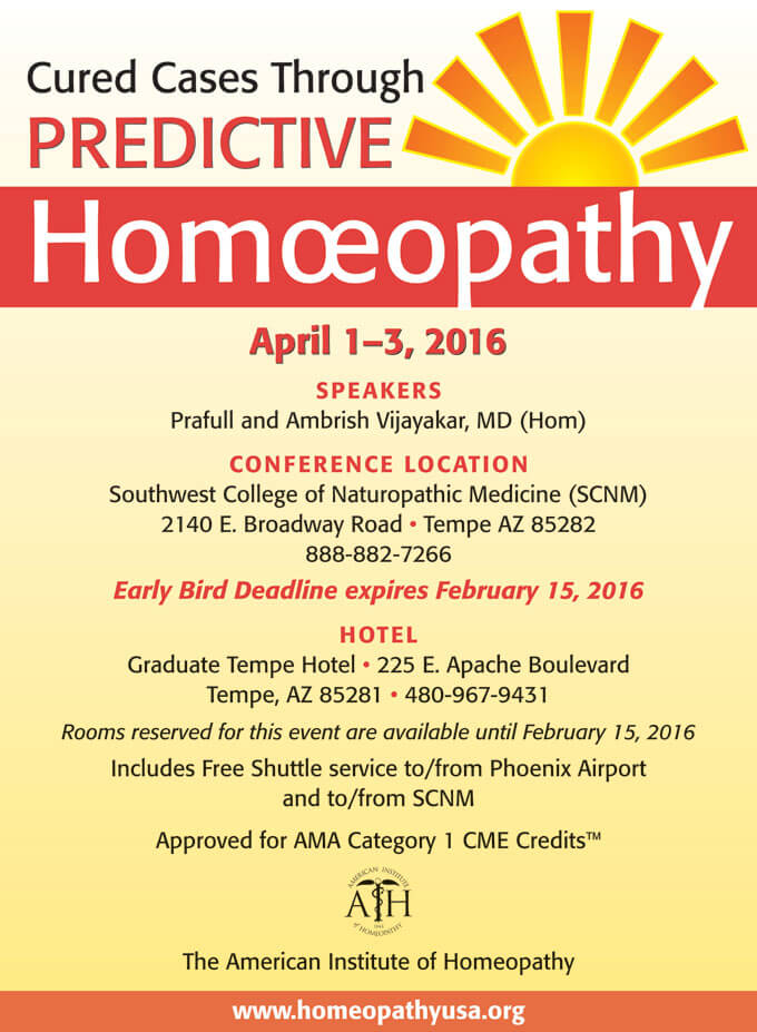 Predictive Homeopathy Through Cured Cases